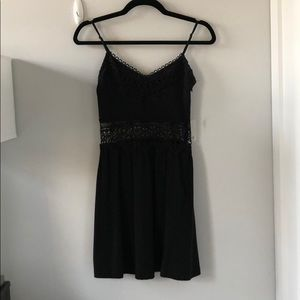Black Topshop sundress, size US 2